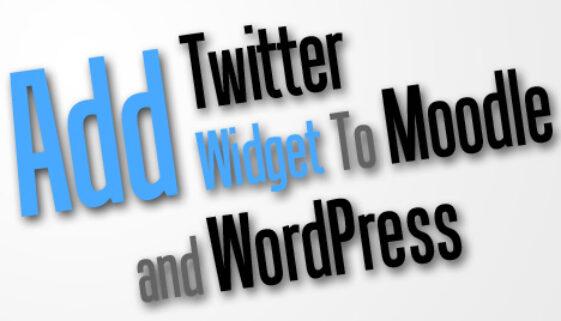 AddTwitterToMoodle