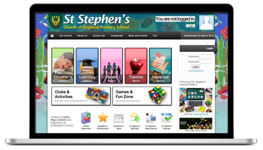 st stephens website