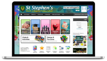 st stephens website
