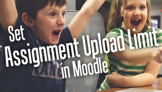 How To Set Assignment Upload Size Limit In Moodle