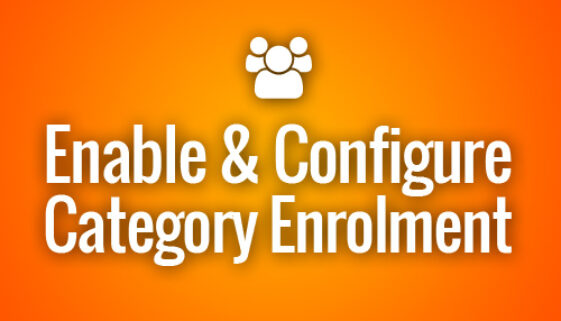 Moodle Category Enrolment