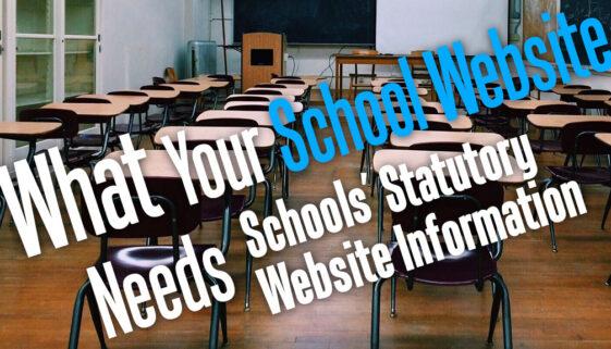 WhatYourSchoolWebsiteNeeds